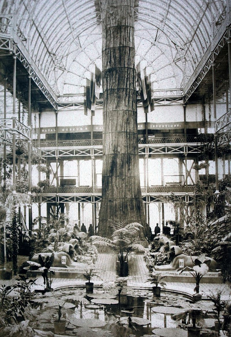 Mother of the Forest in London Crystal Palace 1859