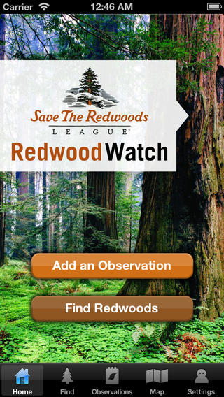 RedwoodWatch App